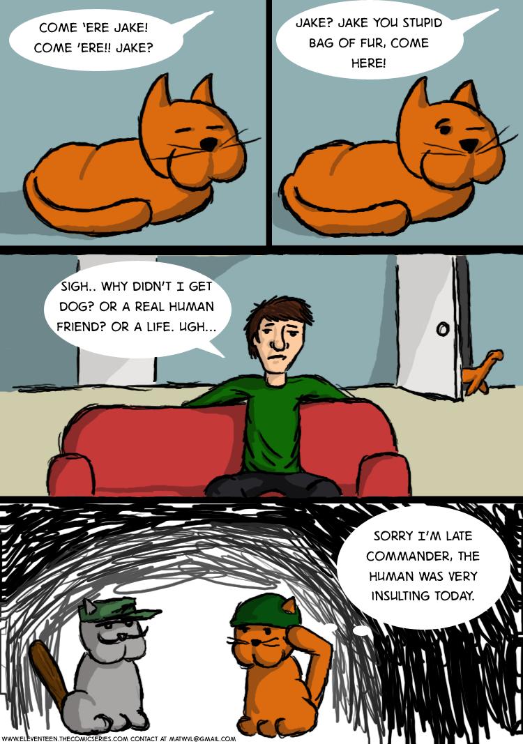 Commando Cat