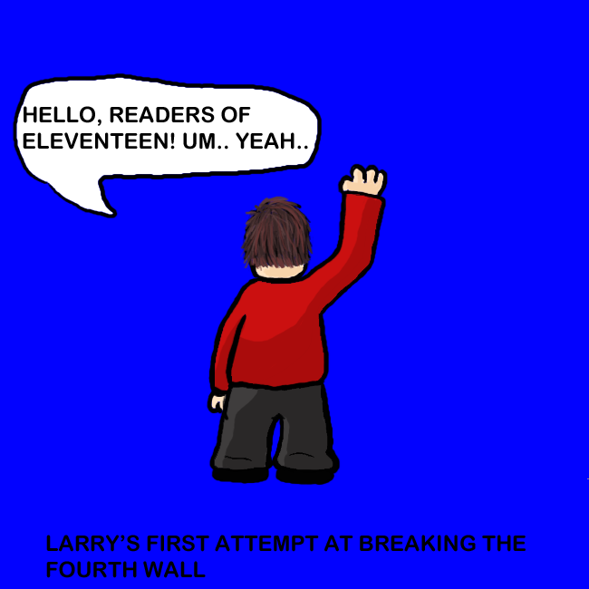 Larry and the fourth wall